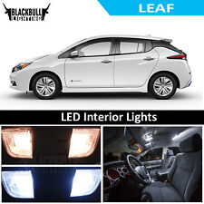 White LED Interior Lights Replacement Kit for 2011-2018 Nissan Leaf 7 bulbs