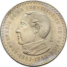 Mexico 5 Pesos 1957 Silber 18 g  #MZO72