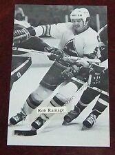 Colorado Rockies post cards 1981-1982 Rob Ramage