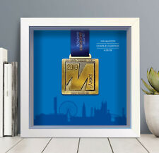 Greater Manchester Marathon Medal Frame Personalised - A unique gift!