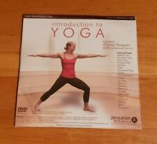 Introduction To Yoga Featuring Christa Norgren Zenzation Athletics Dvd New