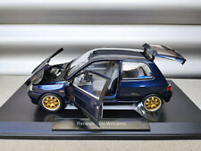 Renault Clio Williams Phase 1 blue 185230 Norev 1:18 NEW