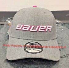 7965303f3d3 Bauer Think Pink New Era 39Thirty Hat! Cap 39 Thirty Hockey Senior Breast  Cancer