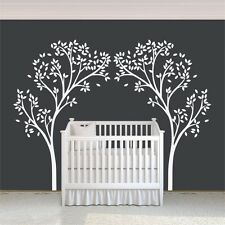 White tree Wall Decal Canopy Inspirational Removable Art Vinyl Room Decor Large