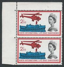 1963 Bote Salvavidas 2 1/2 D (ORD) - defectos mencionados + Perf Shift-Mnh