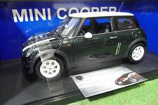 BMW MINI COOPER vert green/blanc 1/18 AUTOart 74827 voiture miniature collection