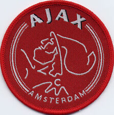 Ajax Amsterdam 80's Football Badge Patch 7.1 x 7.1cm