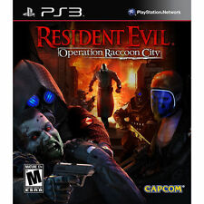 PS3 Resident Evil Operation Raccoon City Multiplayer Complete playstation 3