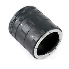 Macro Extension Tube Set fr Nikon AI AF F Mount DSLR SLR Camera Lens Metal Black