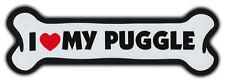 Giant Size! Dog Bone Magnet: I Love My Puggle | Cars, Trucks, Refrigerators