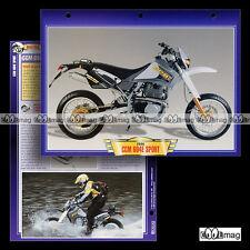 #025.11 Fiche Moto CCM 604E SPORT 2000 Trail Bike Motorcycle Card