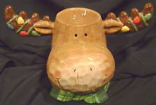 New Home Interiors Decorative Moose Candle Holder