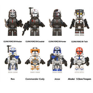Star Wars minifigure Construction Building Block Toy 8 Pcs UK