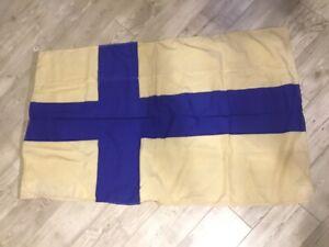 Rare !!!! Finland USSR Flag Fleet Original Wool Soviet