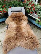Sheepskin Rug Unique Brown 120 cm NEW!