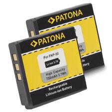 2x Batteria Patona 3,7V 750mah li-ion per Kodak Klic-7004