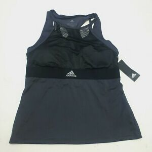 Adidas Exclusive Women's New York Tennis Tank DX4316 Black Size Large NEW w/tags