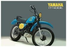 YAMAHA IT250 IT400 IT465 SERVICE , Owner's  & Parts Manual CD