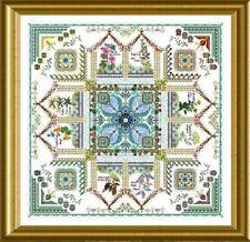 10% Off Chatelaine X-stitch Chart-Tinctorium-The Medieval Dyer's Garden Mandala