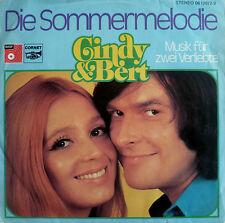 """7"""" GRAND PRIX 1974 (GERMANY) CINDY & BERT : Die Sommermelodie /RARE!!"""