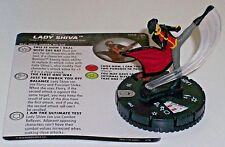 LADY SHIVA #043 The Joker's Wild DC HeroClix Rare