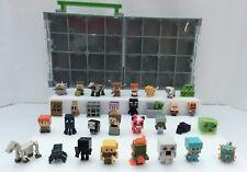 Mindcraft mini figures Series 3 & 4 with case