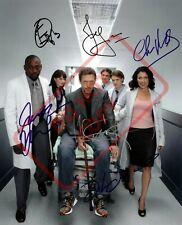 8.5x11 Autographed Signed Reprint RP Photo House Cast Hugh Laurie