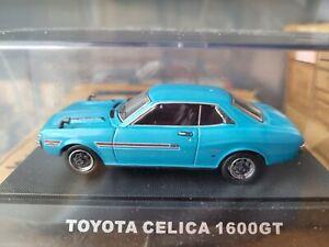 EBBRO OLDIES - TOYOTA CELICA 1600GT [BLUE] ABSOLUTE MINT VHTF BOX GOOD