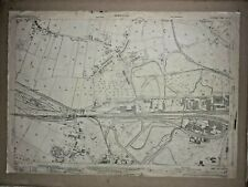 Old Antique Ordnance Map 1937 Lancashire CXIV.12 Widness Ditton & The Marsh