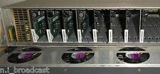 Leitch Fr-6800+ con 8x Marco multiplexor SDI Audio inteligentes