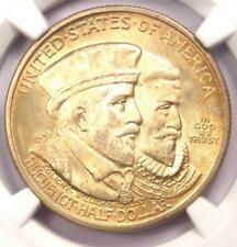 1924 Huguenot Half Dollar 50C - Certified NGC MS66 - Rare in MS66 - $540 Value!