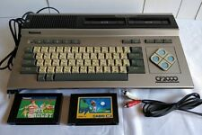 MSX CF2000 Personal Computer National,Power cable,AV cable,Games /tested-a1015-