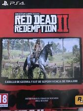 DLC Excl.Red Dead Redemption 2 Ps4 caballo de guerra y kit super.ENVÍO INMEDIATO