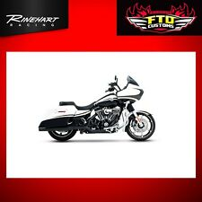 Rinehart Black Xtreme True Duals for 2009-2016 Harley Touring 100-0201