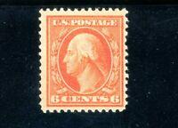 USAstamps Unused FVF US Series of 1908 Washington Scott 336 OG MLH
