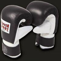 PRO Boxsack Handschuhe von Paffen Sport, Gr. S-XL, echt Leder, Boxen, Kickboxen