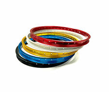 """OLD SCHOOL BMX ARAYA TYPE 7X RIM 20"""" VARIOUS COLOURS SOLD AS SINGLES AND PAIRS"""