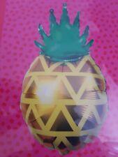 Giant Pineapple Foil Balloon 57cm High Dia 35cm, No Helium Needed,Tropicool