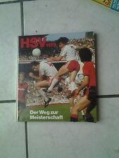 """HSV 1979 """"Der Weg zur Meisterschaft""""Buch von Springer Vlg. 1979"""