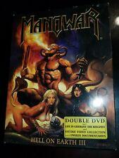 Manowar Hell on Earth III  double DVD. Power metal NTSC