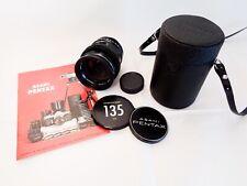Asahi Super-Multi-Coated Takumar 135mm f/2.5 M42,getestet, Full frame- Exzellent