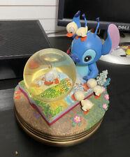 Disney's Lilo & Stitch Musical Snowglobe - Stitch and Ducklings Very Rare Globe