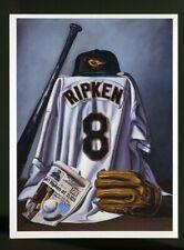 RIPKEN STILL GOING by Bill Williams BILL GOFF Postcard 1995 Baltimore Orioles