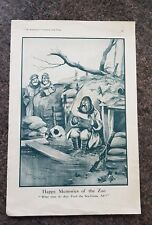 """Lithograph """"The Bystander"""" Humourous Happy Memories of the Zoo and Observation"""