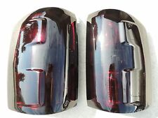 14-17 GMC SIERRA Smoked Tail Lights Black OEM Tinted Painted non led 🔥 CUSTOM