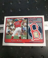 Kevin Millar Red Sox 2005 Topps World Series Champions Game Used Bat Rsr-Km