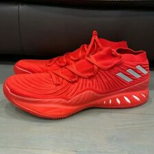 New Adidas SM Crazy Explosive Low 2017 Primeknit B75926 Red Shoes Men's Size 20