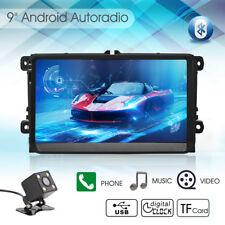 "9"" Android 5.1 GPS Autoradio Navi Für VW Passat Golf Tiguan Jetta Polo Seat+Cam"