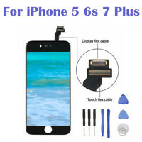 For iPhone 5 5S 6 6S 7 Plus LCD Display Touch Screen Digitizer Assembly White