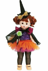 "Madame Alexander # 71405 Abraca Sparkle 8"" Halloween Doll - New in Box - Retired"